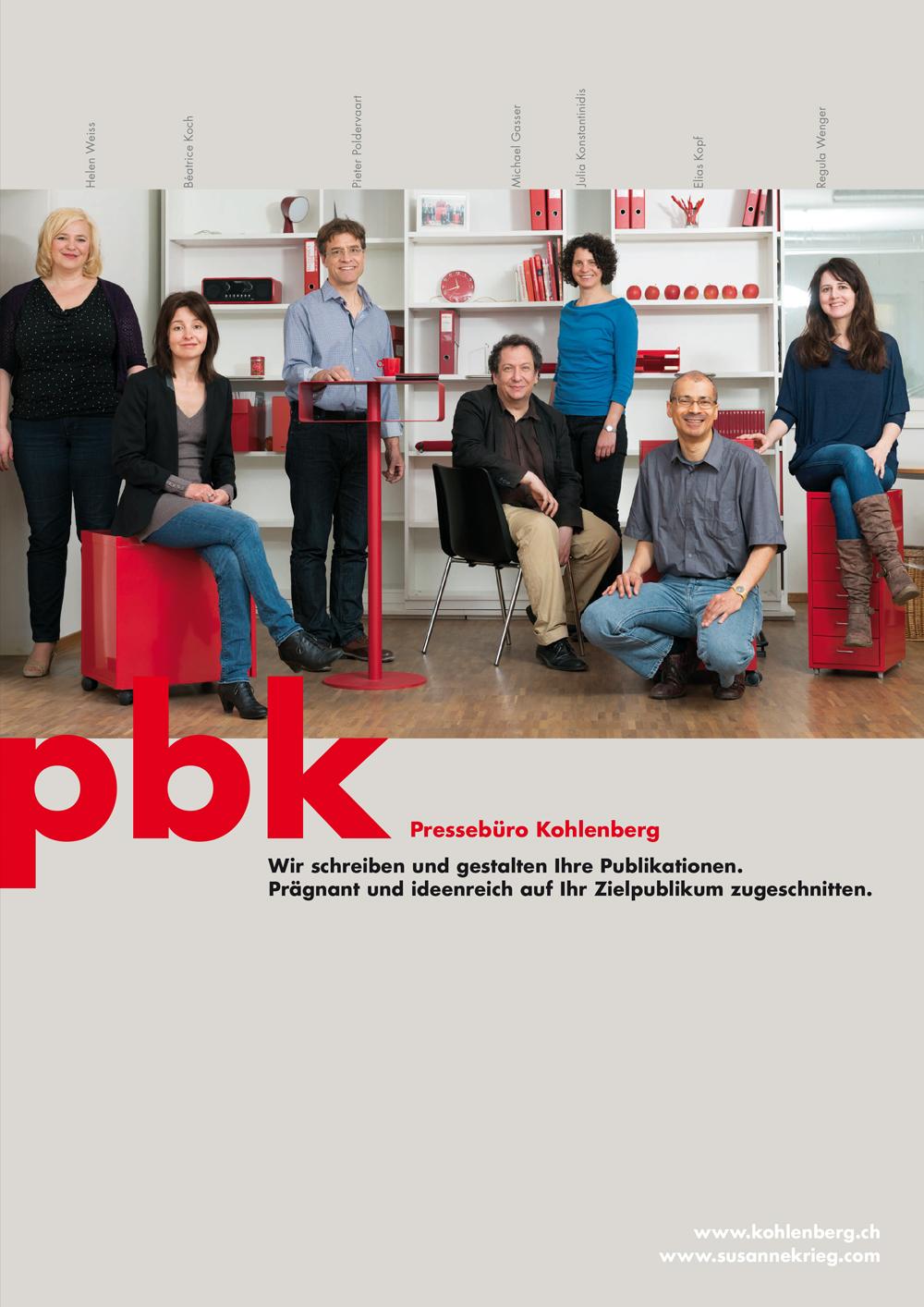 Pressebüro Kohlenberg Folder